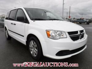 2014 DODGE GRAND CARAVAN  WAGON