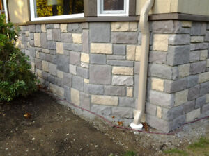 Everything needed to start a stone veneer manufacturing business
