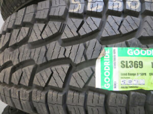 LT 33 INCH X16 INCH NEW 305/70R16 TIRE SALE $170.00 EACH
