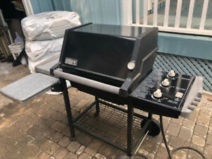 Weber Genesis Silver B Natural Gas Barbecue Grill - restored