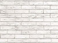 QUALITY / GREAT PRICE WALL CLADDING MATTONE BIANCO (PACK OF 4 )