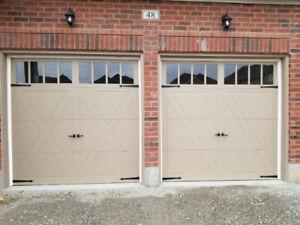 NEW 2 Garage Doors