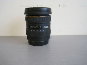 Sigma 10-20MM camera lense