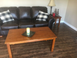 Coffee and end tables some wear but stil in decent shape