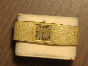 Piaget 18 Karat Solid Gold Vintage Traditional Watch