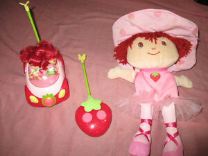 Strawberry shortcake toy remote control car