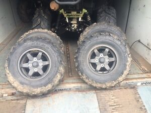 25x8-12, 25x10-12 stock Brute Force tires