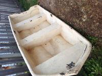 12' glastron fibreglass boat