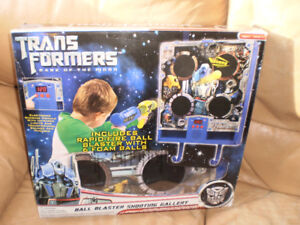 Hasbro Transformers Electronic ball blaster shooting gallery