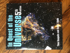 Astronomy 101 textbooks for sale!