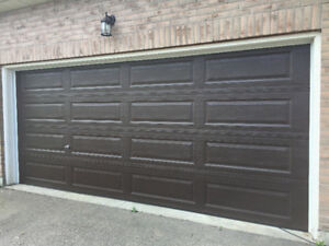16'x7' Quality Insulated Garage Doors starting at $1008 plus HST