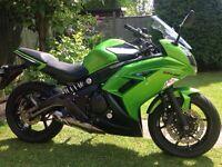 Kawasaki er6f superb condition