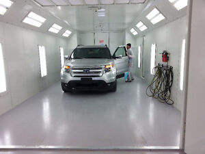 Auto Body & Paint space available- access to new booth-Bake unit