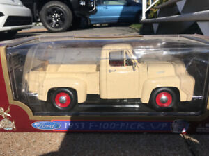 Ford 1953 F 100 pick up diecast 1/18 die cast camion
