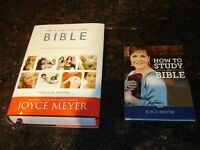 JOYCE MEYER BIBLE with DVD