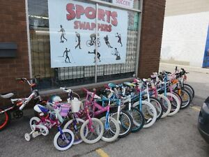 BIKES - BICYCLES  FOR THE ENTIRE FAMILY