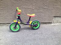 Kids run bike