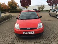 Ford Fiesta 1.3 5 doors in good condition 1 year MOT service history
