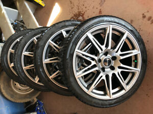 Civic rims and tires