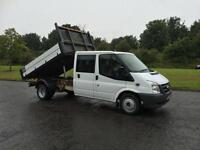 Ford Transit 2.4TDCi Duratorq ( 140PS ) 350M ( DRW ) TIPPER PICK UP