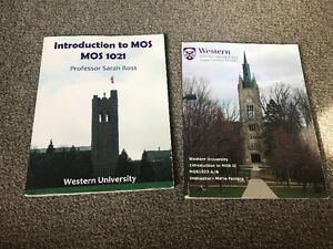 MOS 1021 AND MOS 1022 TEXTBOOKS