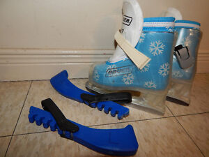 Cute little Bauer Baby Skate size 5/6