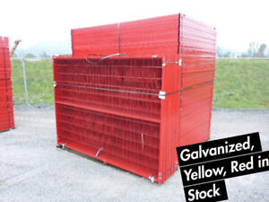 Temporary Fence Panels 6x10 - Welded Wire Fence For Construction