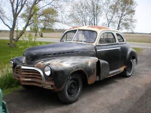 1946 CHEVY COUPE HOT ROD/RAT ROD PROJECT