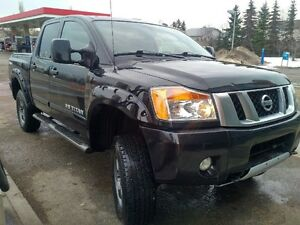 2013 Nissan Titan Pickup Truck, Lift Kit, Built in Radar Detecto