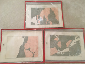 Geological and Natural History Survey Maps of NS from 1884