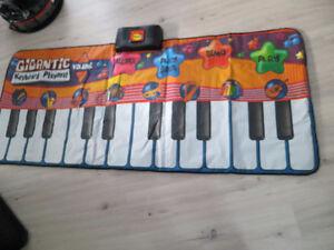 piano tapis pour enfants super gros