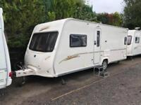 2008 Bailey Senator Oklahoma 4 Berth caravan FIXED BED Awning, VGC, Bargain !
