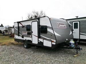 Coleman 17FQ Travel Trailer for sale - Financing Available