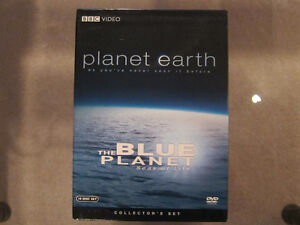Planet Earth DVDs & The Blue Planet Seas of Life DVDs (10 Discs)