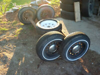 axels/spare tire