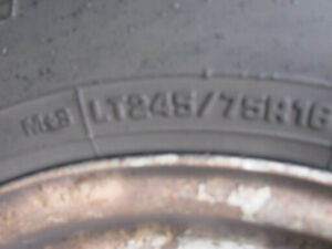 4 LT Truck Tires For Sale
