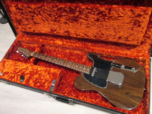 Guitare Télécaster All Rosewood