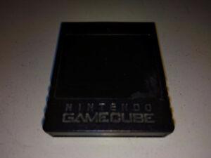 Memory card officielle nintendo pour gamecube !!! 16 mb!!!