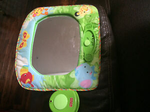 Fisher Price musical/interactive backrear mirror