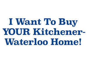 I Buy Kitchener-Waterloo Homes in CASH! (Yes, All Cash!)