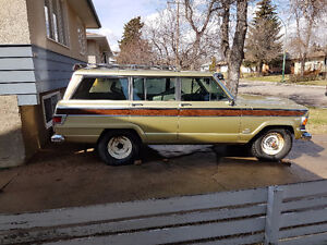 looking for parts for my jeep sj waganeer 1970