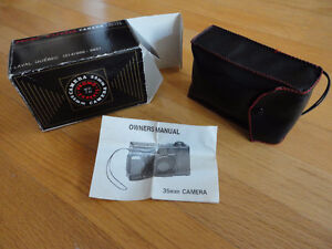 Vintage Promo Experts 35 mm camera with case and original box London Ontario image 3