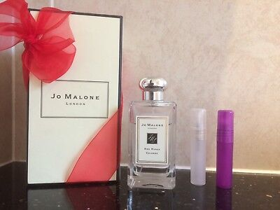 🌹JO MALONE RED ROSES COLOGNE IN 5ML PLASTIC ATOMISER🌹