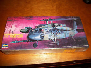 Hasegawa Sikorsky HK-600 Night Hawk Helicopter Model Kit 1/72