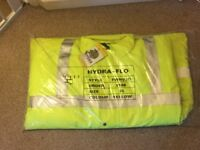 Black Knight Hydra-Flo Fluorescent Jacket - XL (with tags)