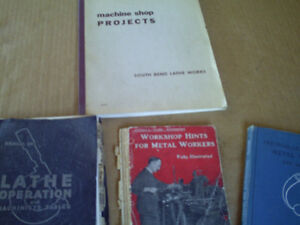 Old Machinist Handbooks(sold  ppu in ottawa)