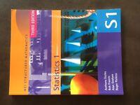 A Level OCR Statistics S1 textbook
