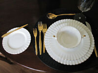 Val D'Or China Eight place settings