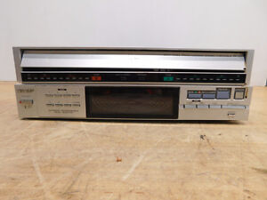 SHARP RP-117 Both Sides Turntable for parts or repair London Ontario image 1