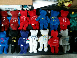 Sport collector bears $5 each or 3 for $10